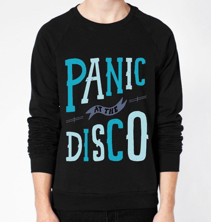 Panic! At The Disco Crewneck Fleece Sweater (Unisex) - CrewWear