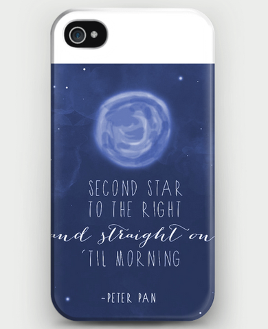 Peter Pan (Second Star to the Right) iPhone Case
