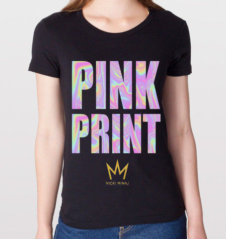 Nicki Minaj PINKPRINT T-Shirt (Women)