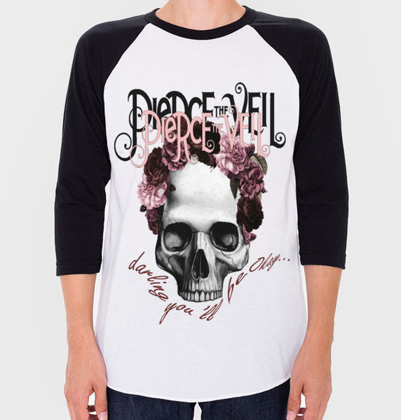 Pierce The Veil Baseball Tee (Unisex) - CrewWear