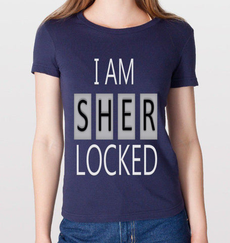 I Am Sherlocked T-Shirt (Women)
