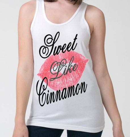 Sweet Like Cinnamon Tank-Top (Women)