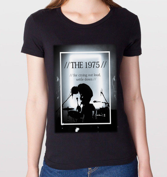The 1975 Settle Down T-Shirt (Women) - CrewWear