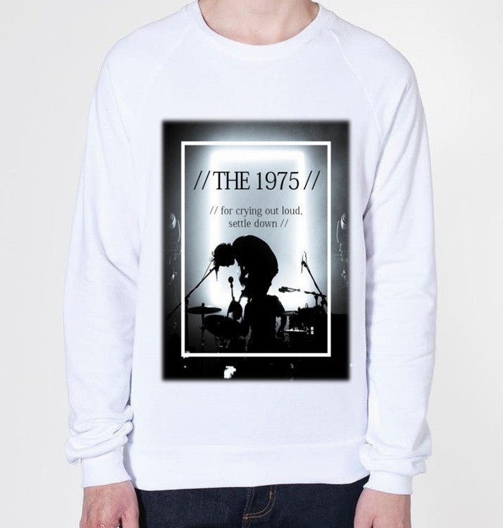 The 1975 Settle Down Crewneck Fleece Sweater (Unisex) - CrewWear