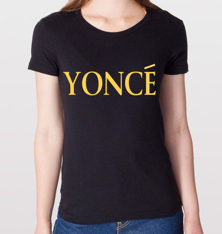 YONCE Black T-Shirt (Women)