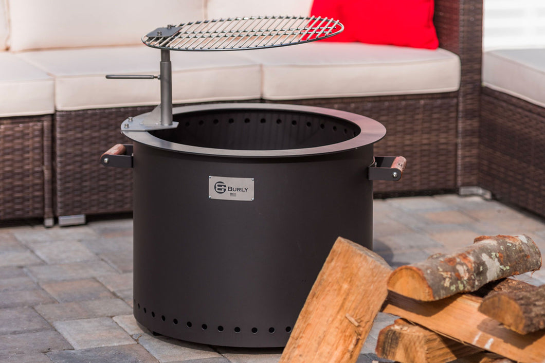 GATHER Fire Pit and Grill Feature Bundle