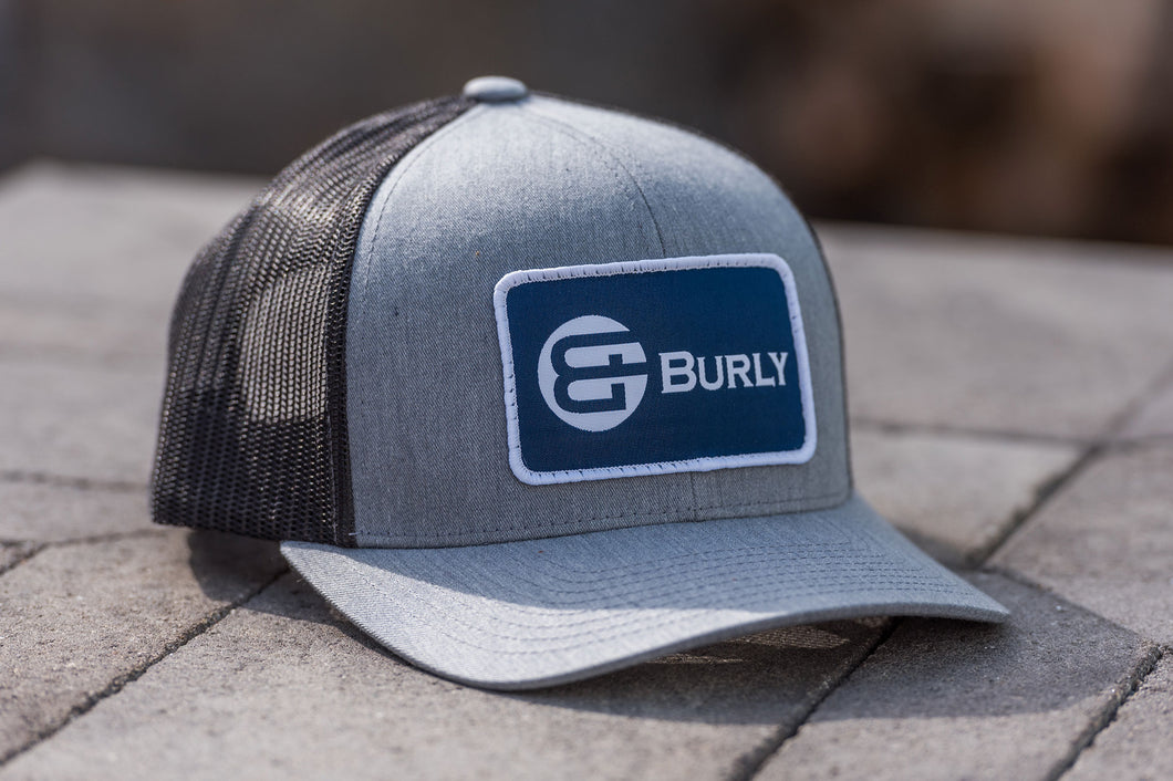 Heather Grey - Charcoal Trucker Hat