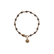Vintage Faith Chain Bracelet with Petite Penny