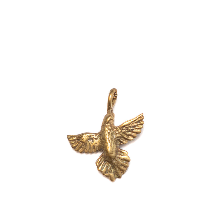 Dove Charm Yellow Bronze