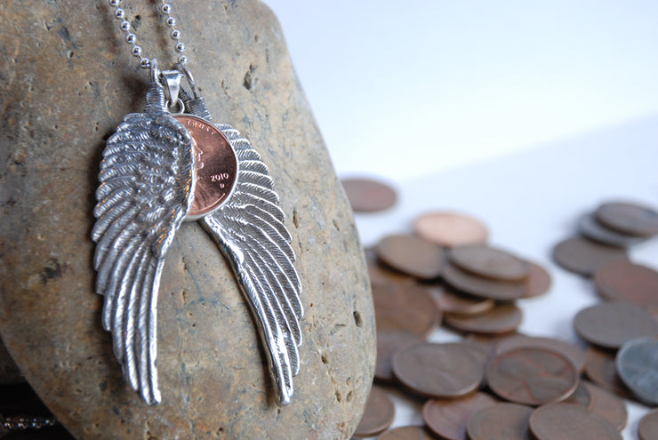 Sterling Penny From Heaven Necklace