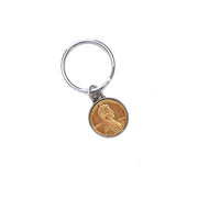 Gold Plated Penny Key Chain
