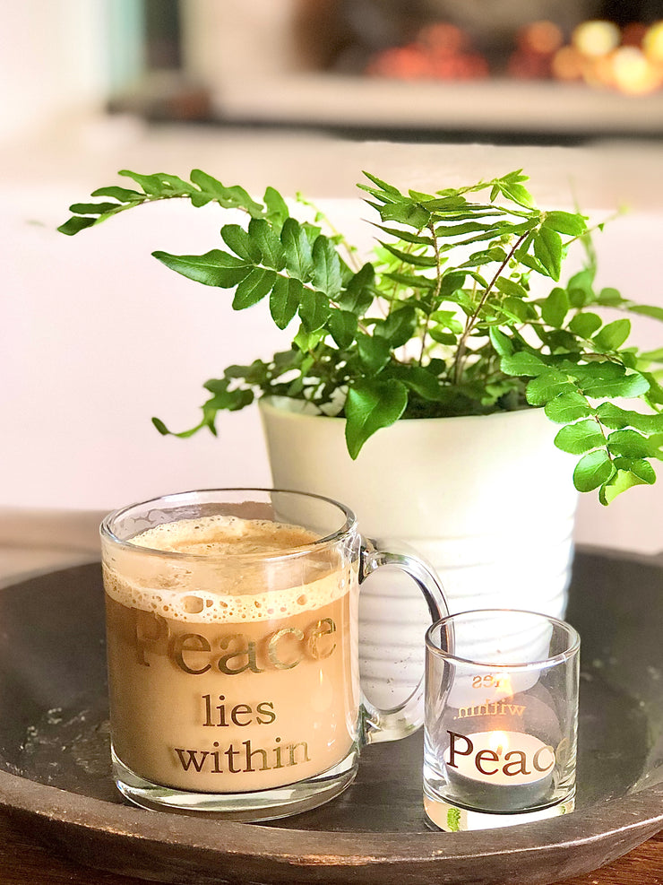 Peace Lies Within Coffee Mug