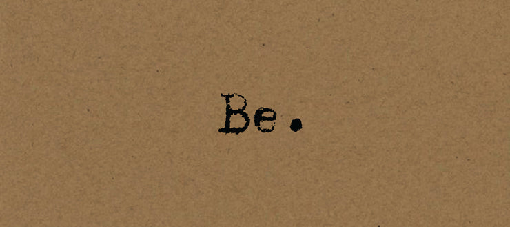Be… Card on Kraft