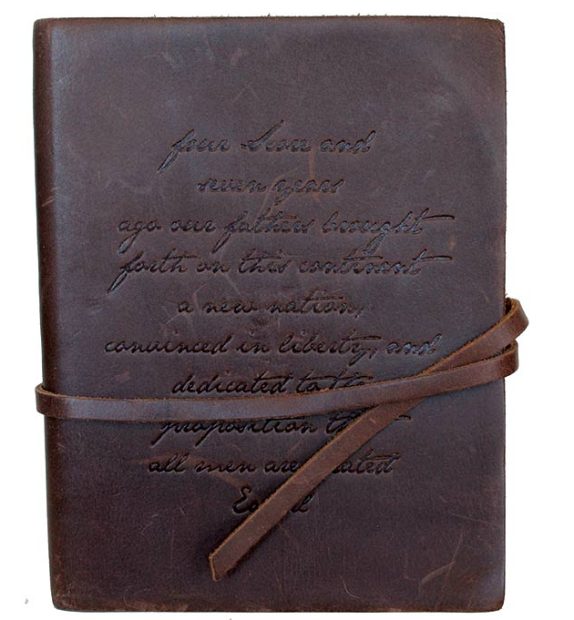 Four Score Leather Journal