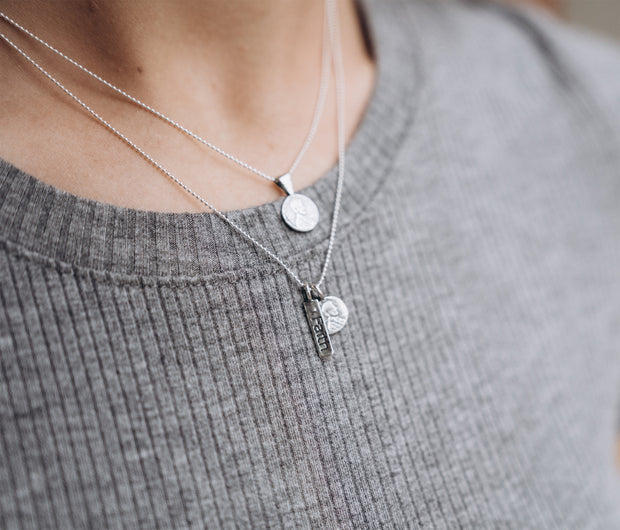 Petite Love Penny Sterling Silver