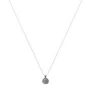 Lucky Petite Penny Necklace Sterling Silver