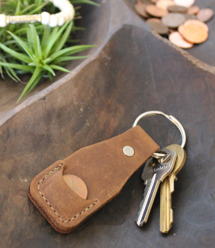 2020 Leather Key Chain