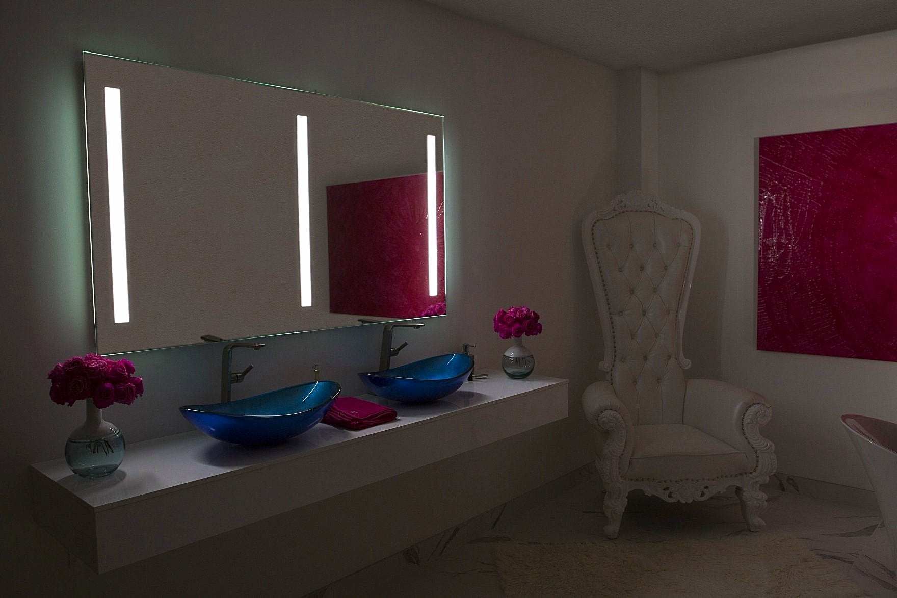 Dimmable Lighted mirror Verano