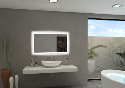 BACKLIT Bathroom MIRROR RECTANGLE 40 X 24 in