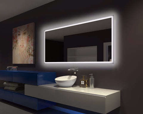 BACKLIT Bathroom MIRROR RECTANGLE 70 X 32 in