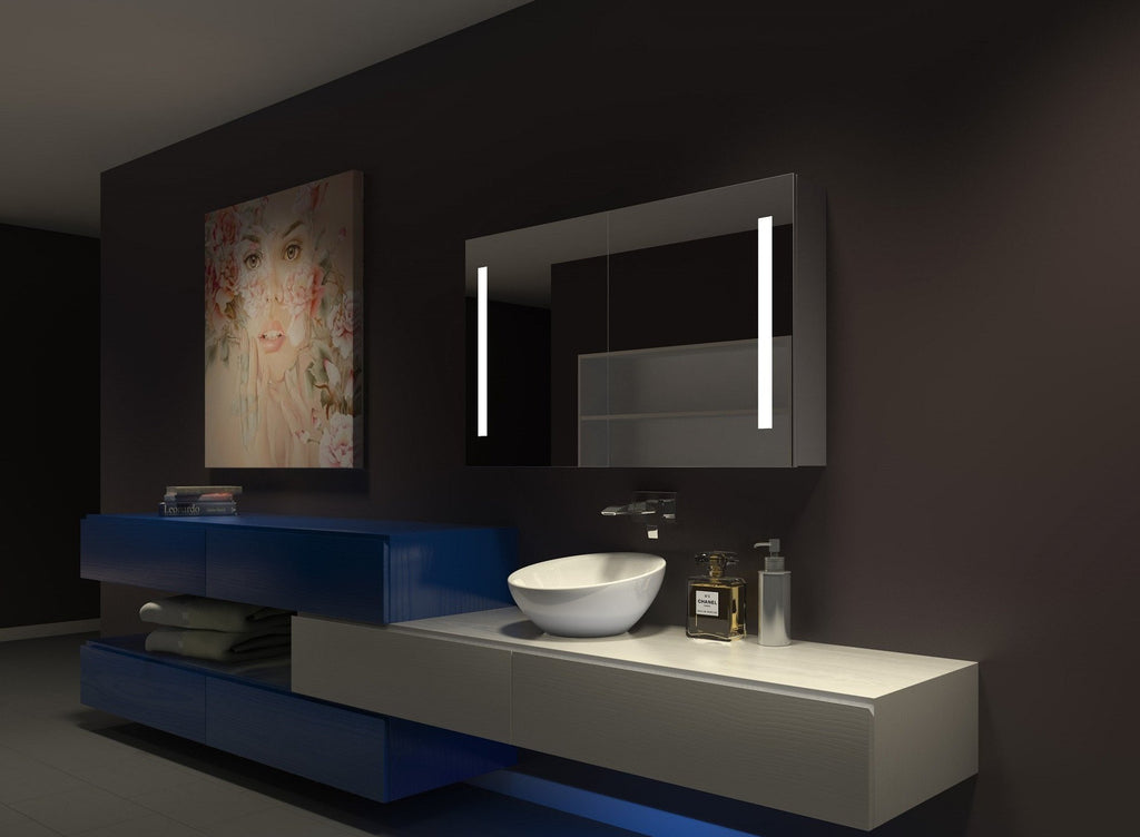 Dimmable Lighted Cabinet Verano  48 x 28