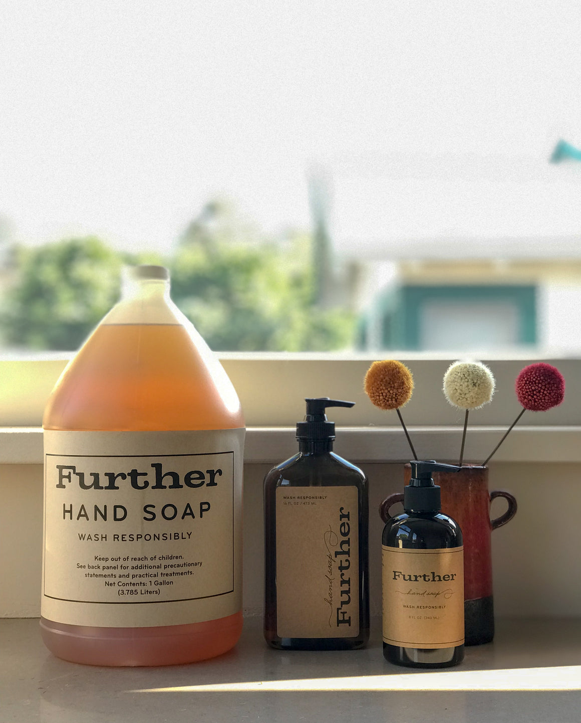 8 oz Hand Soap – Further Glycerin Soap
