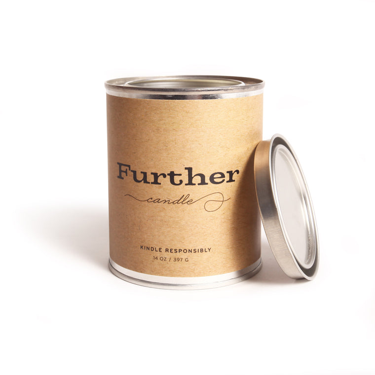 13 oz. Tin Candle – Further Soy Candle
