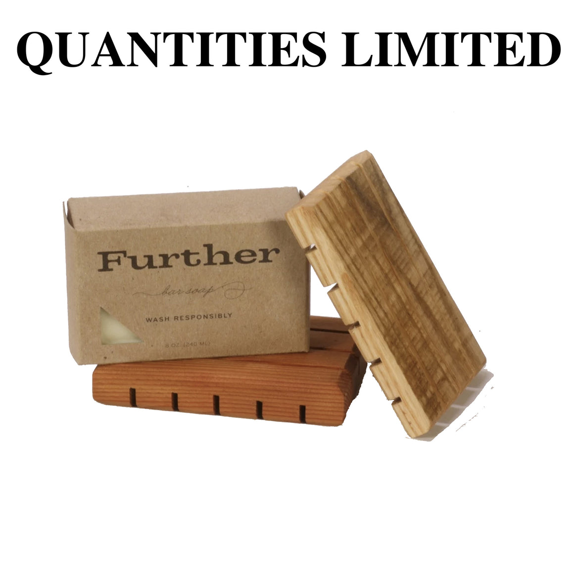 Further Bar Soap & Tray Gift Set