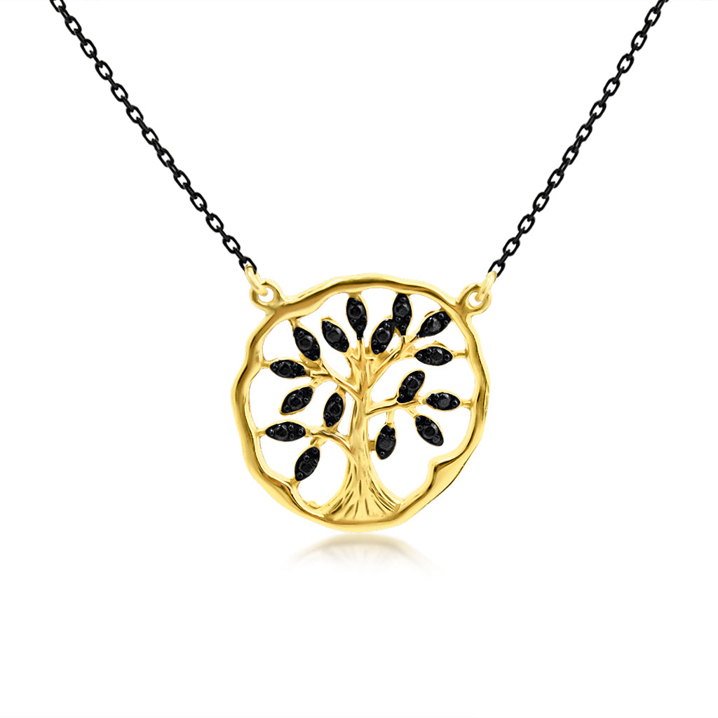 Olive Tree Necklace - SilaDea Jewelry