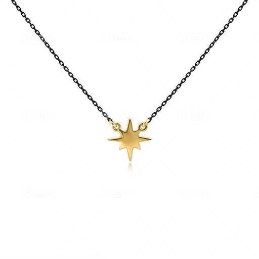 Northern Star Necklace - SilaDea Jewelry