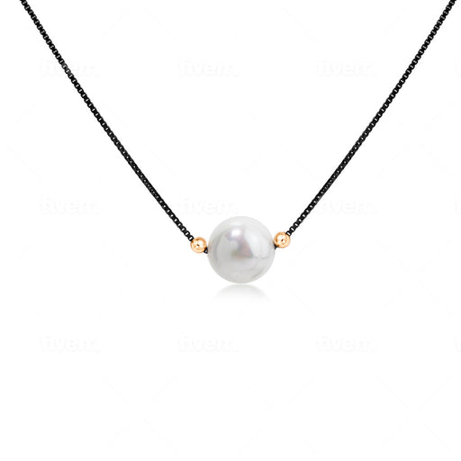 Perle Purity Necklace - SilaDea Jewelry