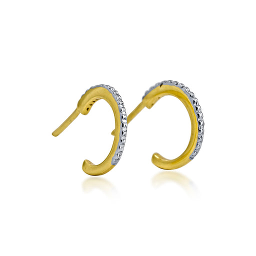 Eclipse Small Hoops - SilaDea Jewelry