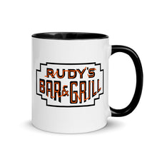 Load image into Gallery viewer, Devil Pig + Neon Sign Mug - Rudys Bar & Grill