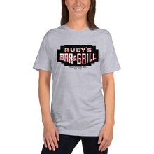 Load image into Gallery viewer, Neon Sign T-Shirt - Rudys Bar & Grill
