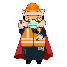 Load image into Gallery viewer, Transit Worker Masked Hero Pig - Rudys Bar & Grill