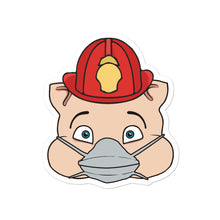 Load image into Gallery viewer, Fireman Hero Pig Head - Rudys Bar & Grill