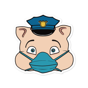 Police Masked Hero Pig Head - Rudys Bar & Grill