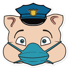 Load image into Gallery viewer, Police Masked Hero Pig Head - Rudys Bar & Grill
