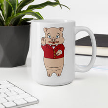 Load image into Gallery viewer, Pig + Neon Sign Mug - Rudys Bar & Grill