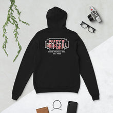 Load image into Gallery viewer, Pig + Neon Sign Hell's Kitchen Hoodie - Rudys Bar & Grill