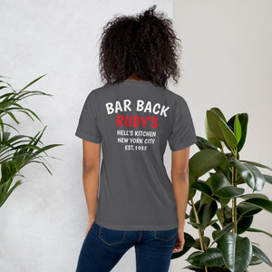 Bar Back T-Shirt - Rudys Bar & Grill