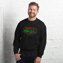 Load image into Gallery viewer, Christmas Neon Sign Sweatshirt - Rudys Bar & Grill