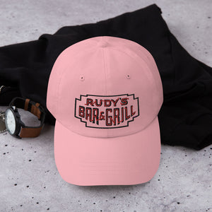 Valentine's Day Neon Sign Dad hat - Rudys Bar & Grill