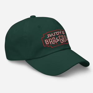 St. Patrick's Day Neon Sign Dad Hat - Rudys Bar & Grill