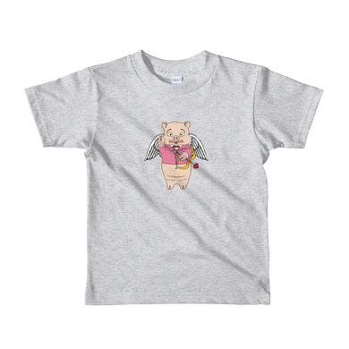 Cupid Pig Youth T-Shirt - Rudys Bar & Grill
