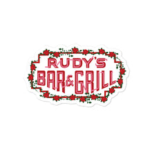 Load image into Gallery viewer, Valentine's Day Neon Sign Sticker - Rudys Bar & Grill