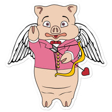 Load image into Gallery viewer, Cupid Pig Sticker - Rudys Bar & Grill