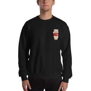 Pig + Neon Sign Sweatshirt - Rudys Bar & Grill