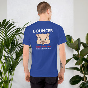 Bouncer Pig Head T-Shirt - Rudys Bar & Grill