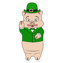 Load image into Gallery viewer, St. Patrick's Day Pig Sticker - Rudys Bar & Grill